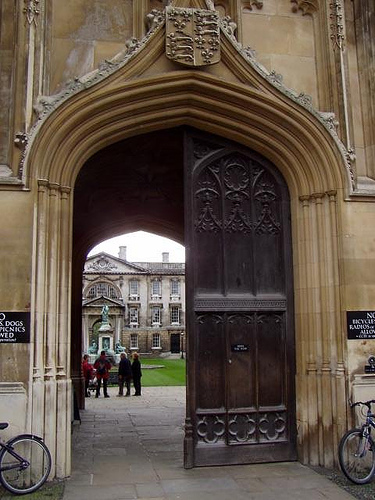 Cambridge university gate